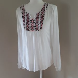 Ariat Flowy Embroidered Blouse